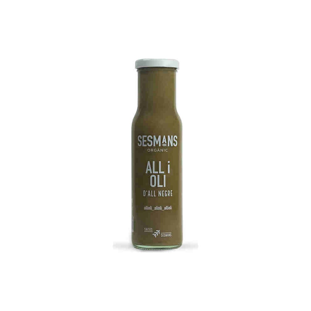 Salsa All i Oli de Ajo Negro 240g