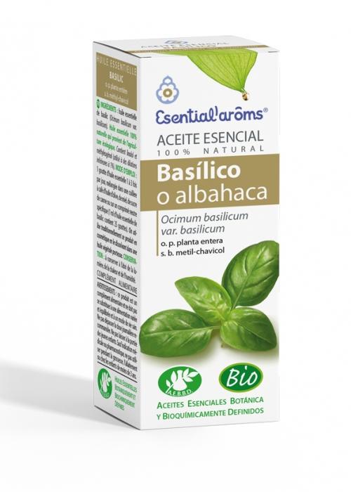 Aceite Esencial Basilico (Albahaca) 10ml Bio