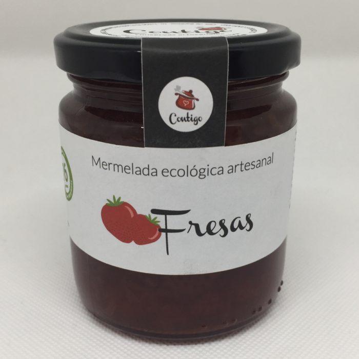 Mermelada Fresa Ecologica Contigo
