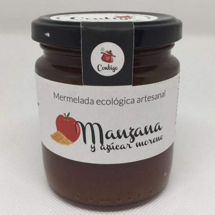 Mermelada Manzana Con Azucar Moreno  Contigo