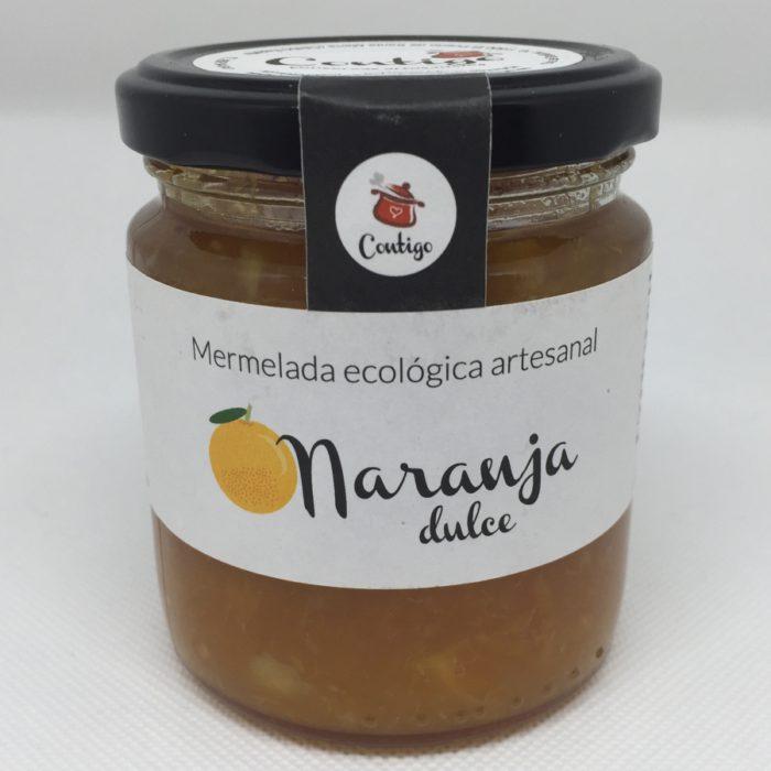 Mermelada Ecologica Naranja Dulce Contigo