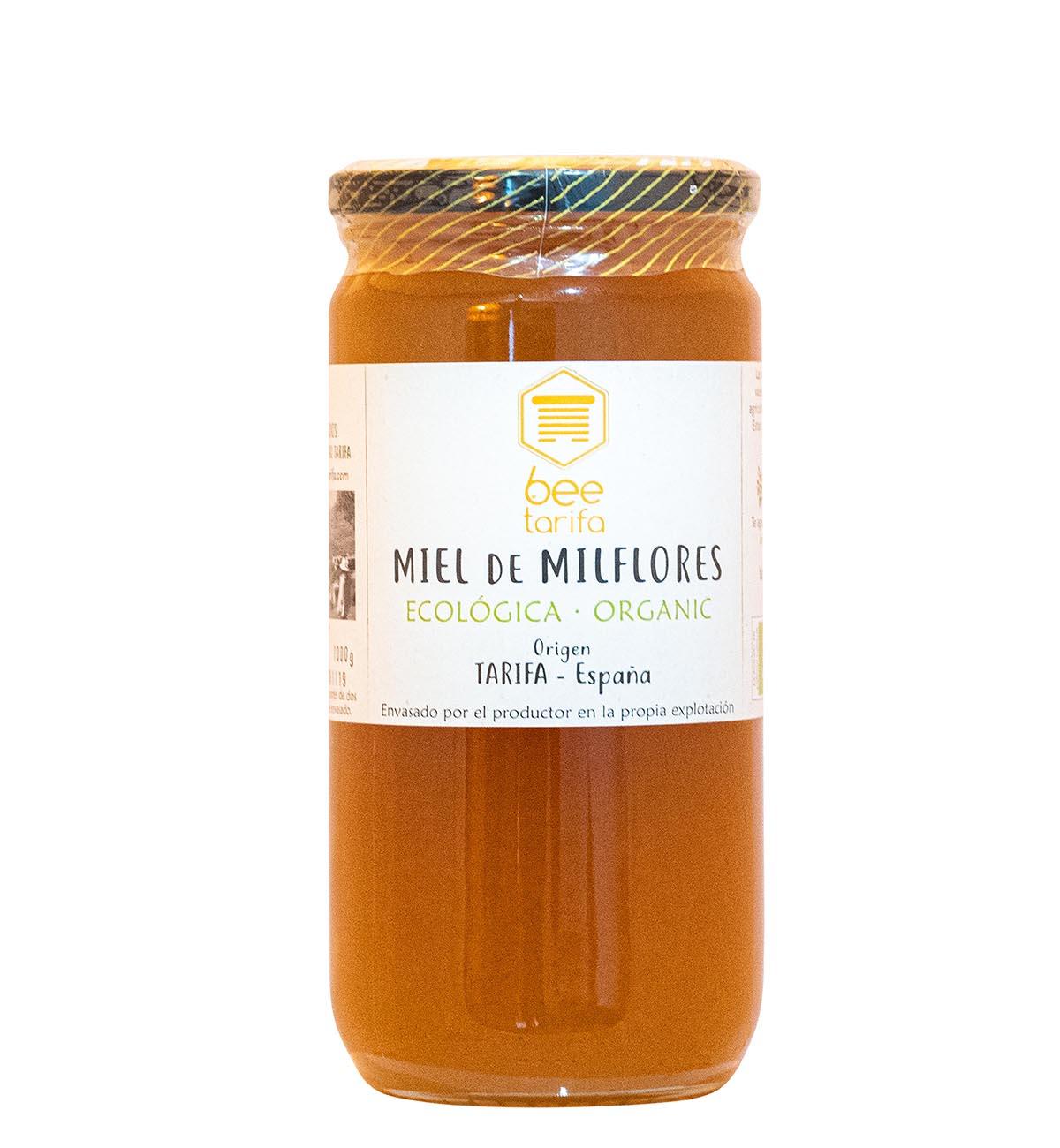 Miel Milflores Ecologica 1 kg Bee Tarifa