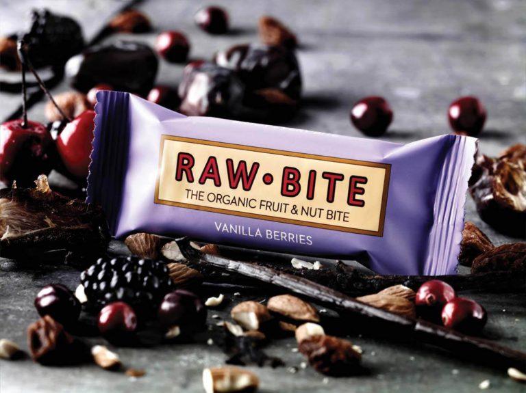 Barrita Raw Bite Vainilla Bayas