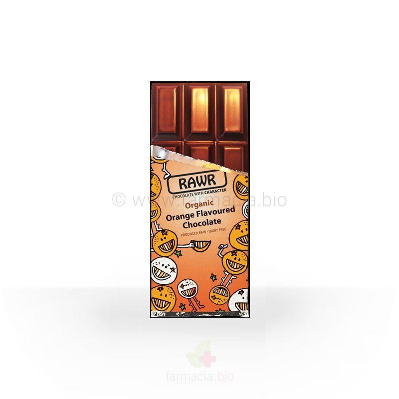 Chocolate Ecologico A La Naranja