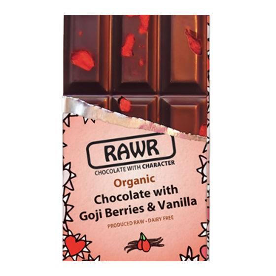 Chocolate Ecologico Con Goji Y Vanilla