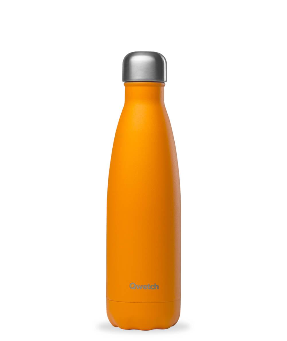 Botella isotérmica Inox Pop naranja