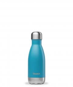 Botella Isotermica Inox. Turquesa Qwetch