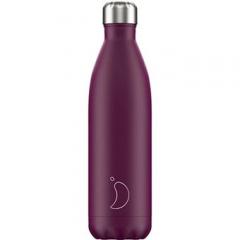 Botella Isotermica  Purpura mate Chilly´s 750ml