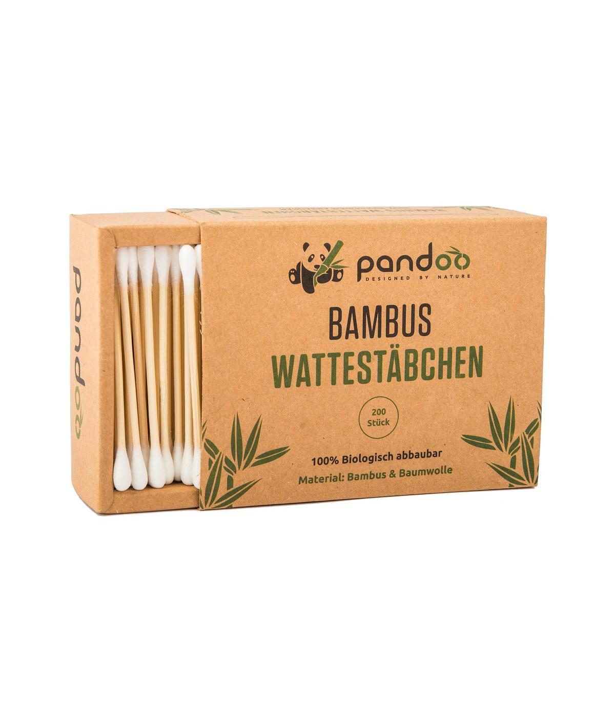 Bastoncillos Oido Algodon De Bambu