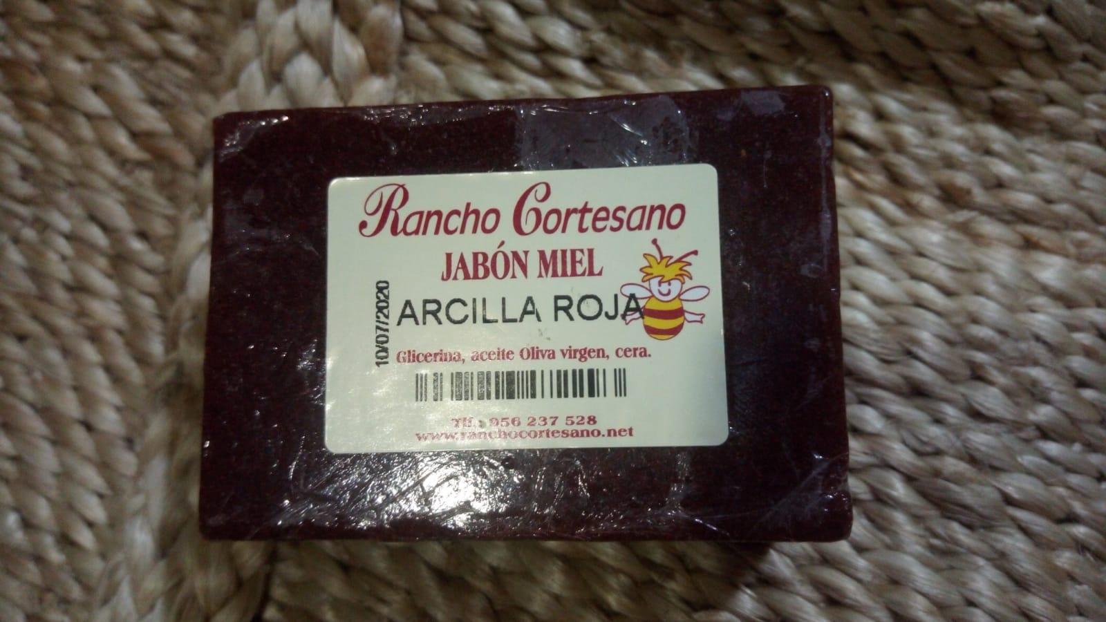 Jabon Arcilla Roja Rancho Cortesano