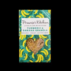 Primrose's Kitchen Cúrcuma orgánica y granola de plátano