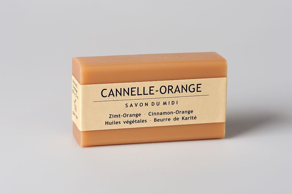 Jabon Con Karite Canela Naranja Savon Du Midi