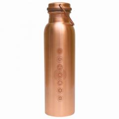 Botella de Cobre Chakra 900 ml