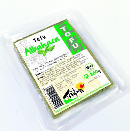 Tofu Con Albahaca 200 Taifun Bio