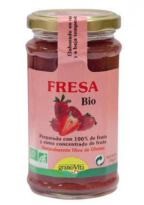 Mermelada De Fresa 240 Granovita Bio