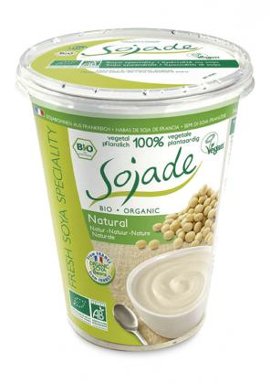 Yogur Soja Natural 400 Sojade Bio
