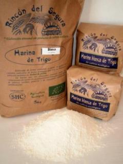 Harina De Trigo Blanca 1 Rincon Del Segura