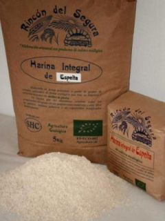 Harina Integral De Espelta 1 Rincon Del Segura Bio