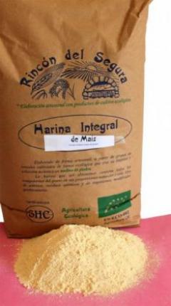 Harina Integral De Maiz 1 Rincon Del Segura Bio