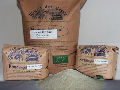 Harina De Trigo Sarraceno 1 Rincon Del Segura Bio