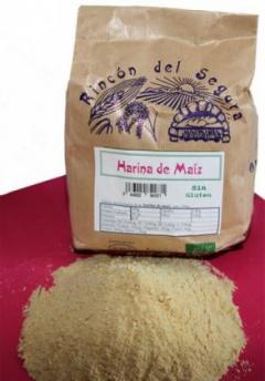 Harina De Maiz Sin Gluten 800 gr  Rincon Del Segura Bio