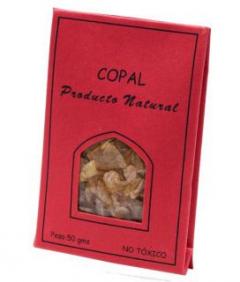 Copal,Resina En Granulos 50 Gr La Rueda Natural